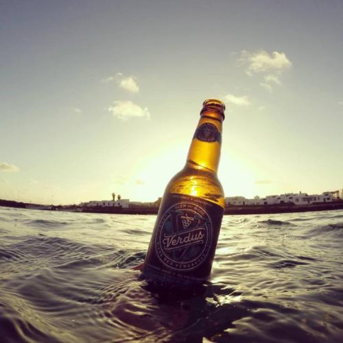 Verdus, bière au jus de raisin, L'ocean en bouteille