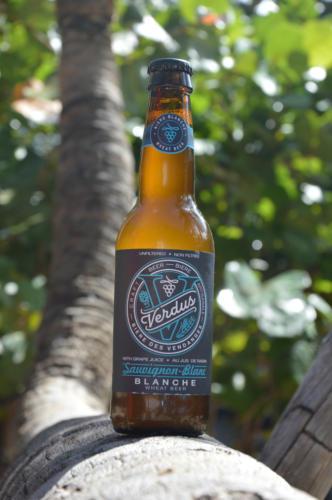 Verdus, bière au jus de raisin, palmier